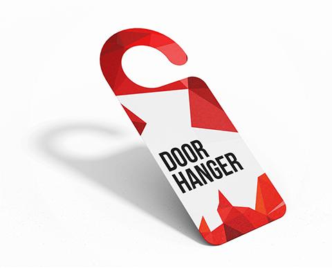 Door hangers |  PRINTCENTER - Tipar digital, offset, indoor, outdoor