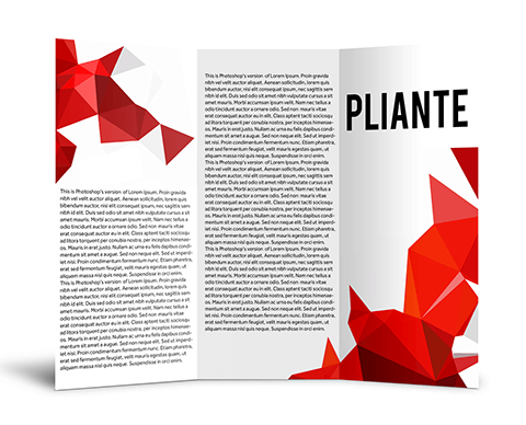 Pliante |  PRINTCENTER - Tipar digital, offset, indoor, outdoor