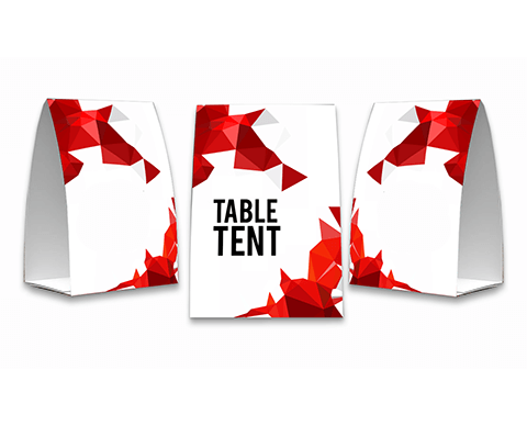 Table Tent |  PRINTCENTER - Tipar digital, offset, indoor, outdoor