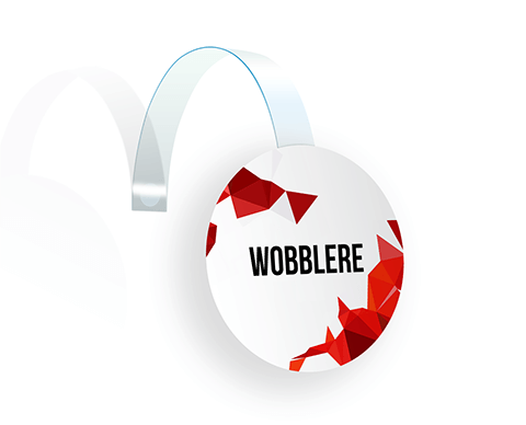 Wobblere |  PRINTCENTER - Tipar digital, offset, indoor, outdoor