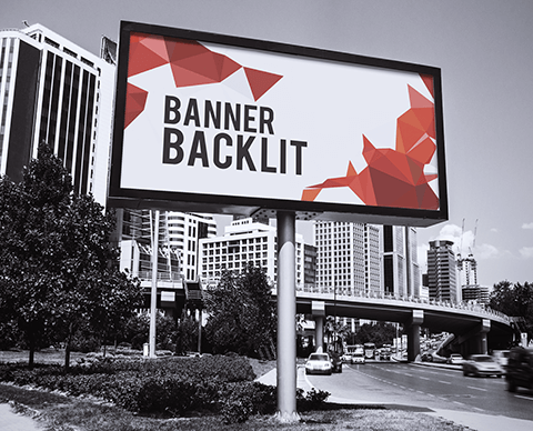 Banner backlit |  PRINTCENTER - Tipar digital, offset, indoor, outdoor