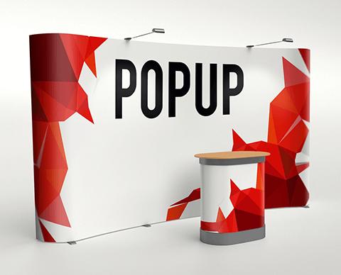 Pop-up Spider Magnetic |  PRINTCENTER - Tipar digital, offset, indoor, outdoor