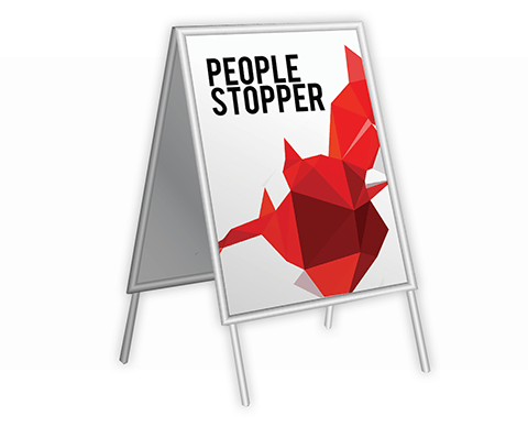 People Stopper |  PRINTCENTER - Tipar digital, offset, indoor, outdoor