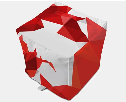 Bean Bag Sugar Cube |  PRINTCENTER - Tipar digital, offset, indoor, outdoor