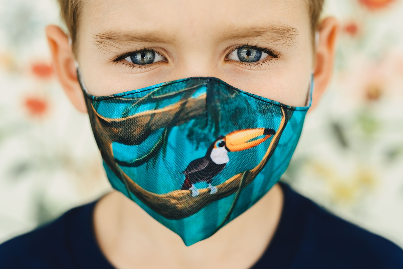Mască copii TUCAN - 29 LEI |  PRINTCENTER - Tipar digital, offset, indoor, outdoor