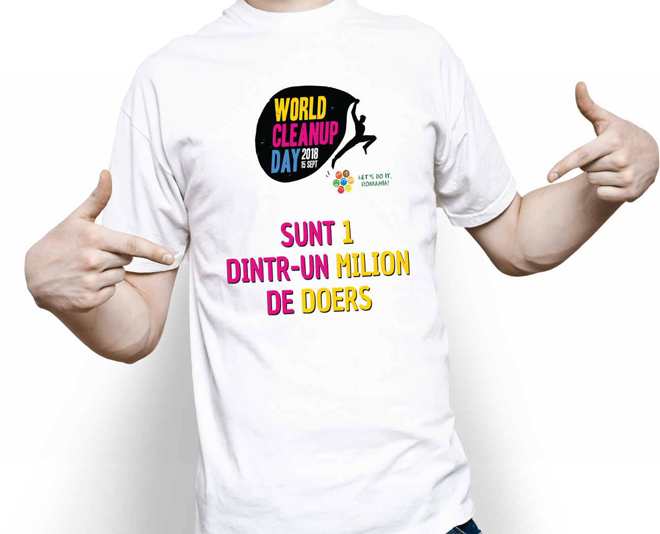 Tricou bărbați Let's Do It, România! - 35 LEI |  PRINTCENTER - Tipar digital, offset, indoor, outdoor
