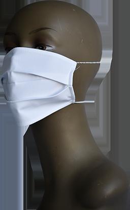 Mască de protecție cu 2 pliuri din bumbac tratat antiviral și antibacterian - 22.61 LEI |  PRINTCENTER - Tipar digital, offset, indoor, outdoor