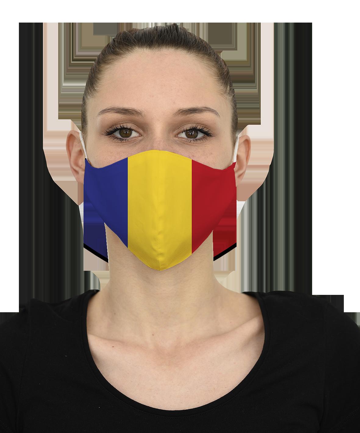 Mască ROMANIA - 29 LEI |  PRINTCENTER - Tipar digital, offset, indoor, outdoor