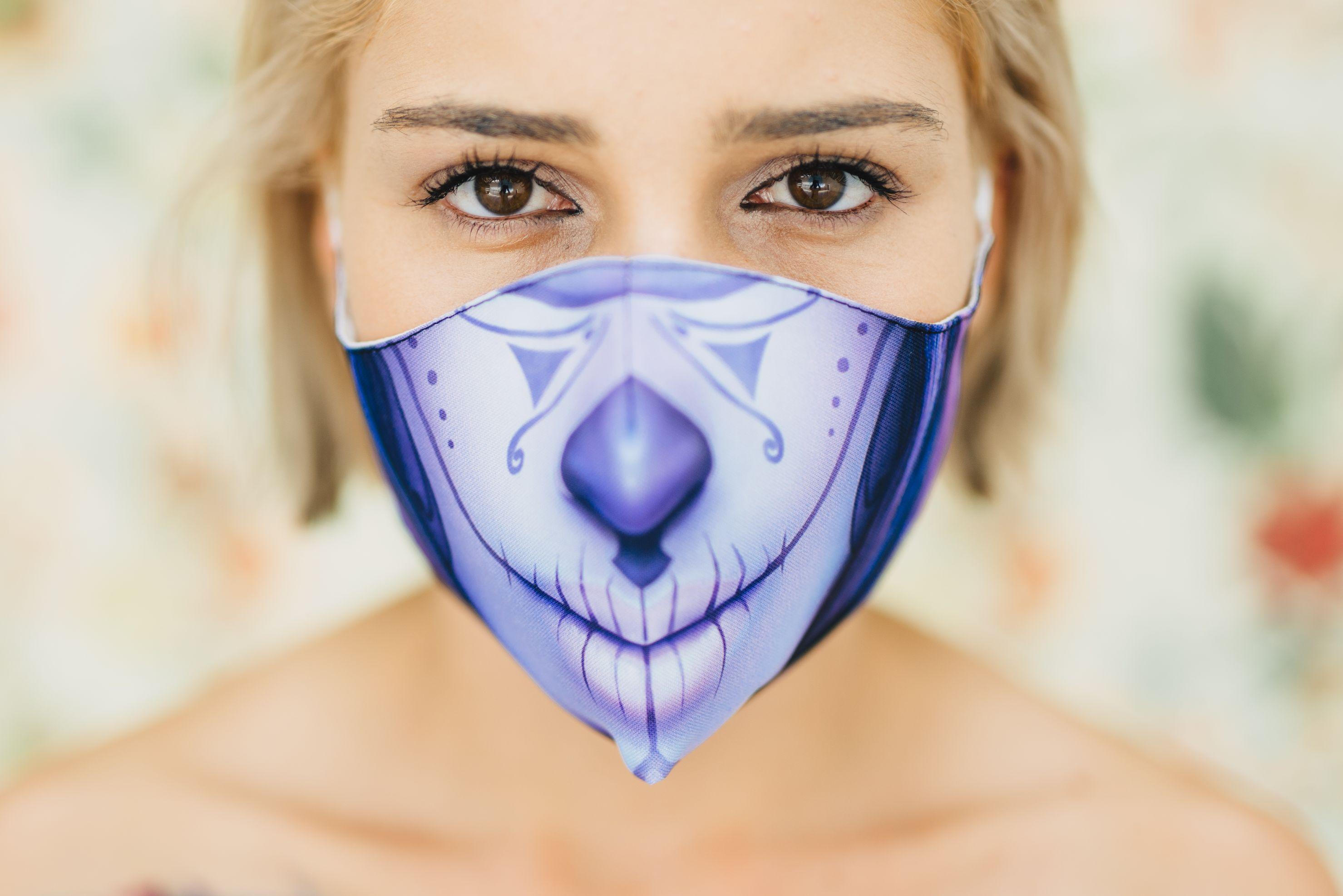 Mască Calavera - 29 LEI    PRINTCENTER - Tipar digital, offset, indoor, outdoor