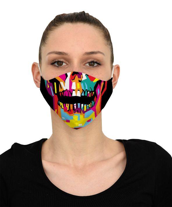 Mască Color Skull