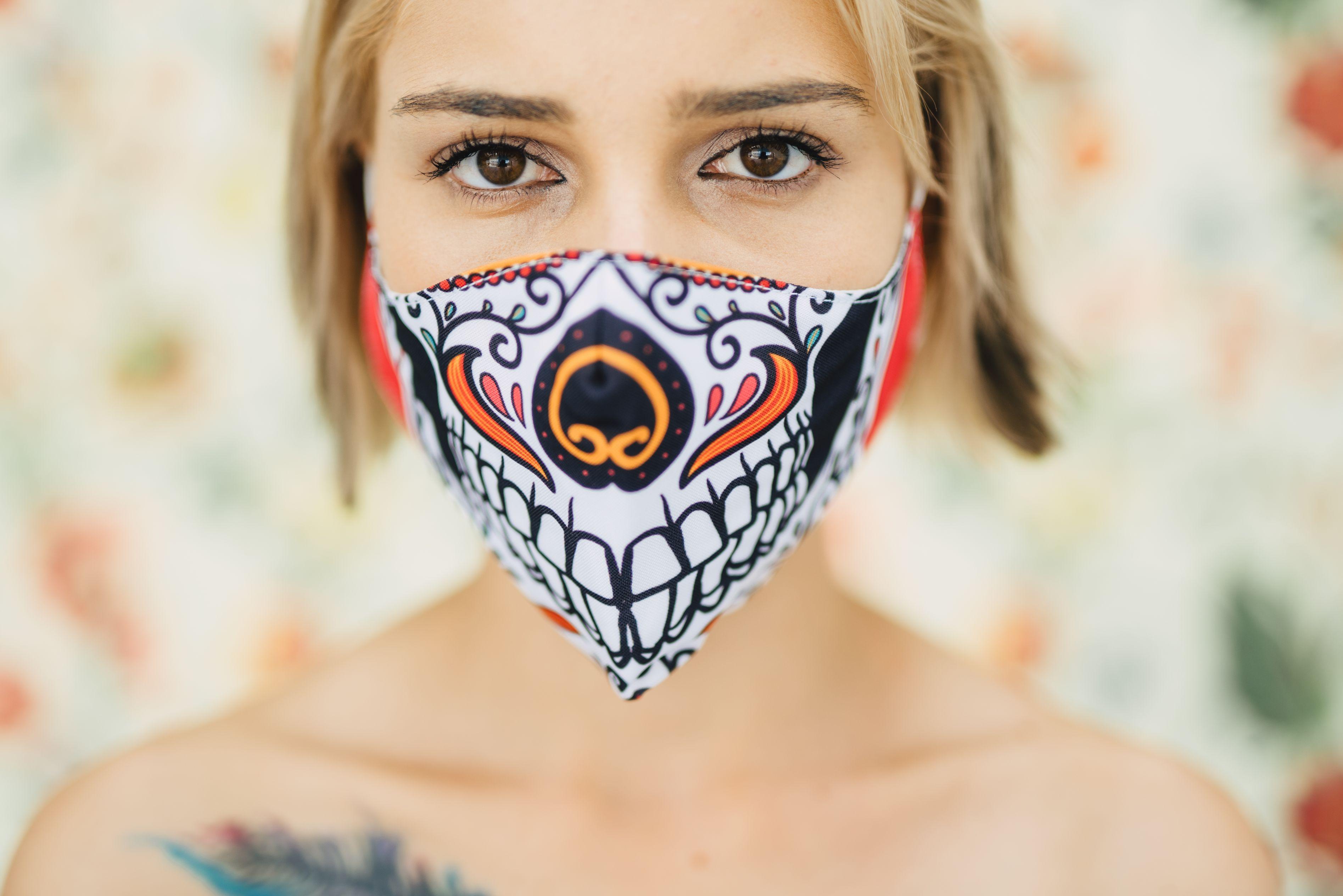 Mască Dia de los muertos - 29 LEI |  PRINTCENTER - Tipar digital, offset, indoor, outdoor