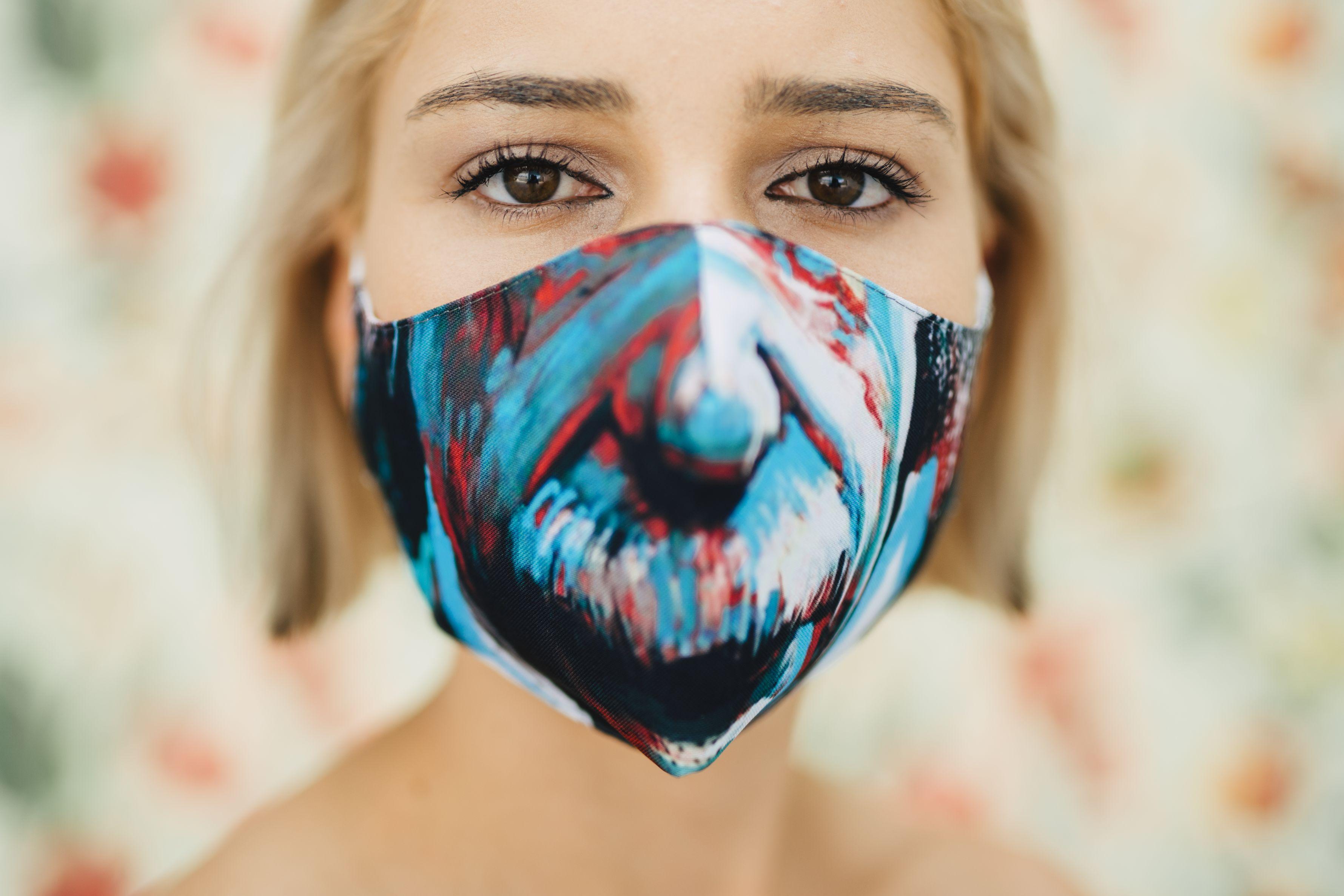 Mască Einstein - 29 LEI |  PRINTCENTER - Tipar digital, offset, indoor, outdoor