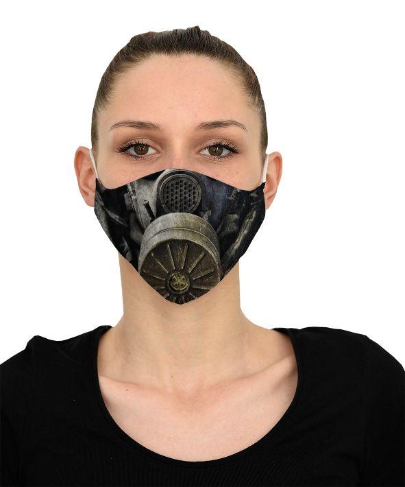 Mască Gas mask - 29 LEI |  PRINTCENTER - Tipar digital, offset, indoor, outdoor