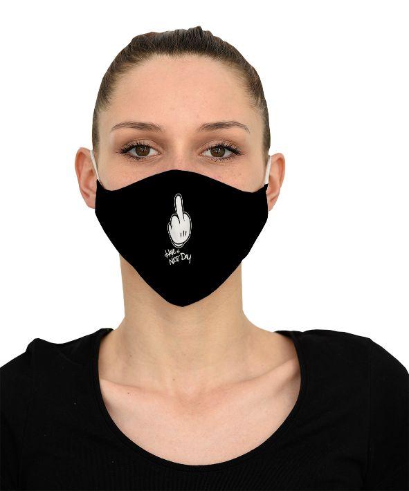 Mască Have a nice day - 29 LEI |  PRINTCENTER - Tipar digital, offset, indoor, outdoor