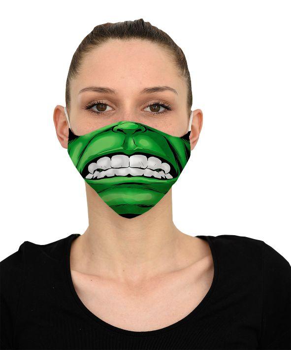 Mască Hulk