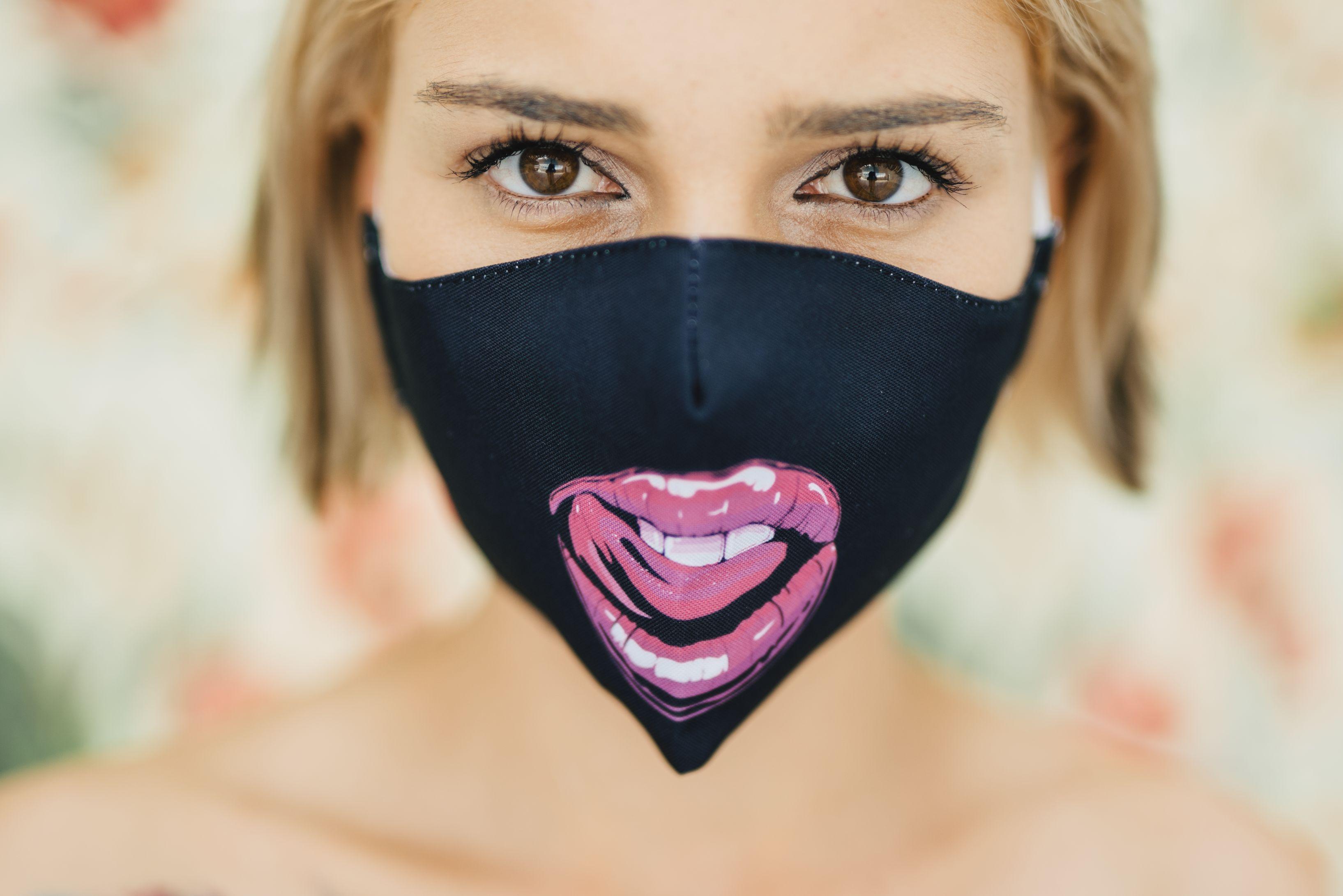 Mască Lips - 29 LEI |  PRINTCENTER - Tipar digital, offset, indoor, outdoor