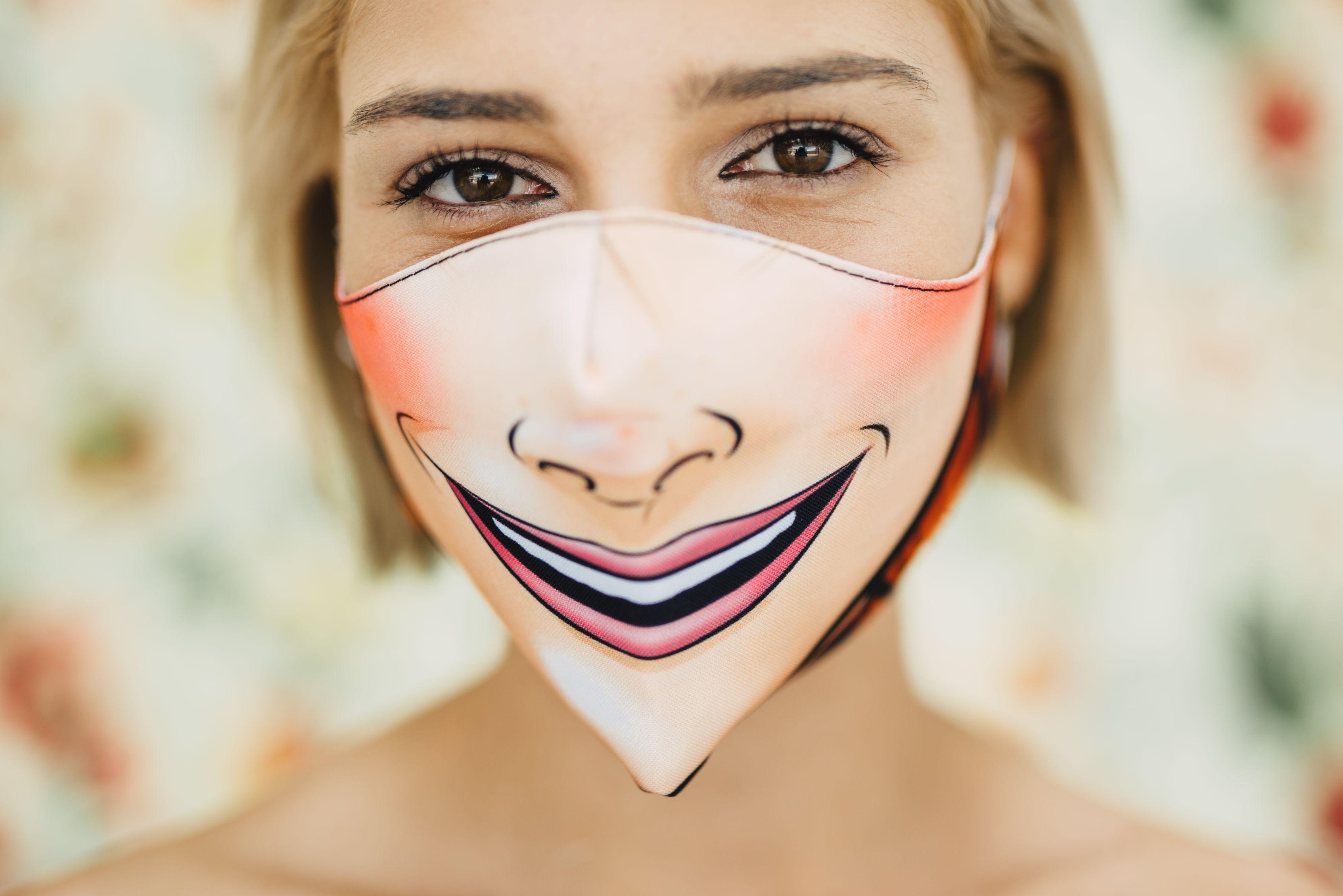 Mască Princess - 29 LEI |  PRINTCENTER - Tipar digital, offset, indoor, outdoor