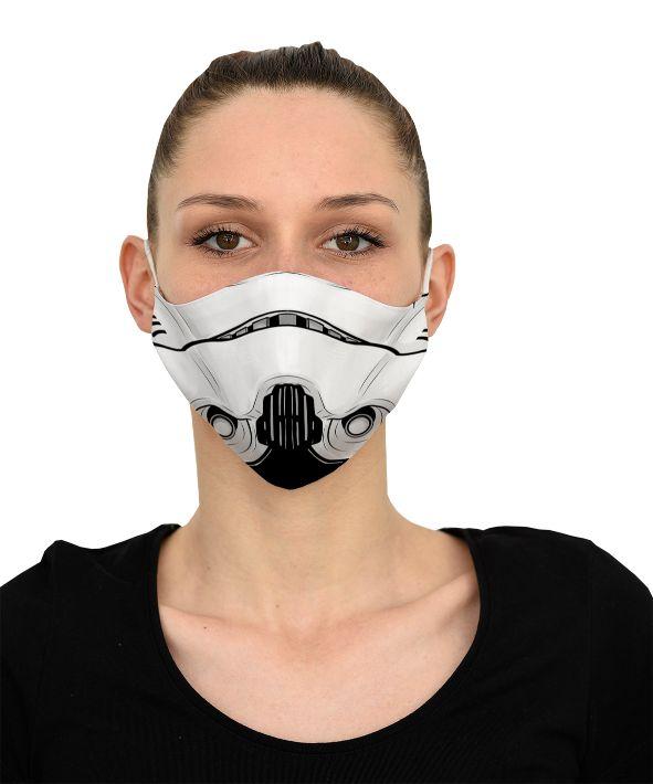 Mască Storm Trooper - 29 LEI |  PRINTCENTER - Tipar digital, offset, indoor, outdoor