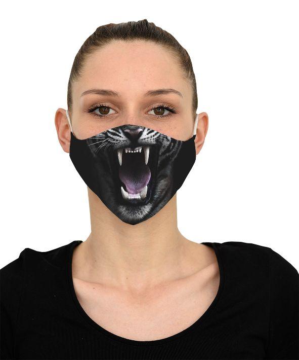 Mască Tiger - 29 LEI |  PRINTCENTER - Tipar digital, offset, indoor, outdoor