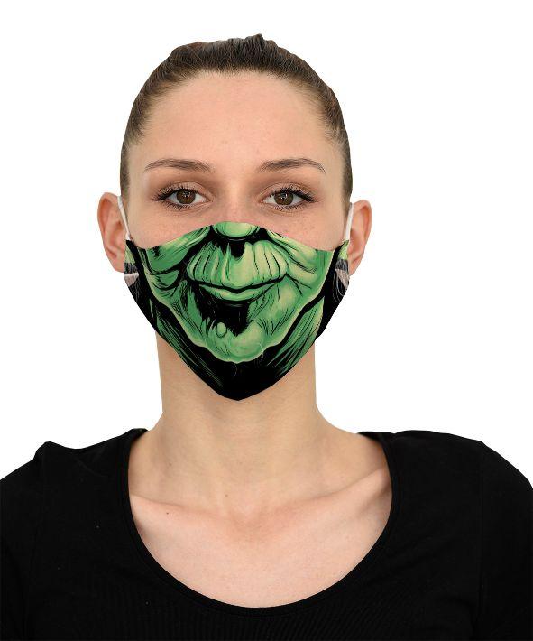 Mască Yoda - 29 LEI |  PRINTCENTER - Tipar digital, offset, indoor, outdoor