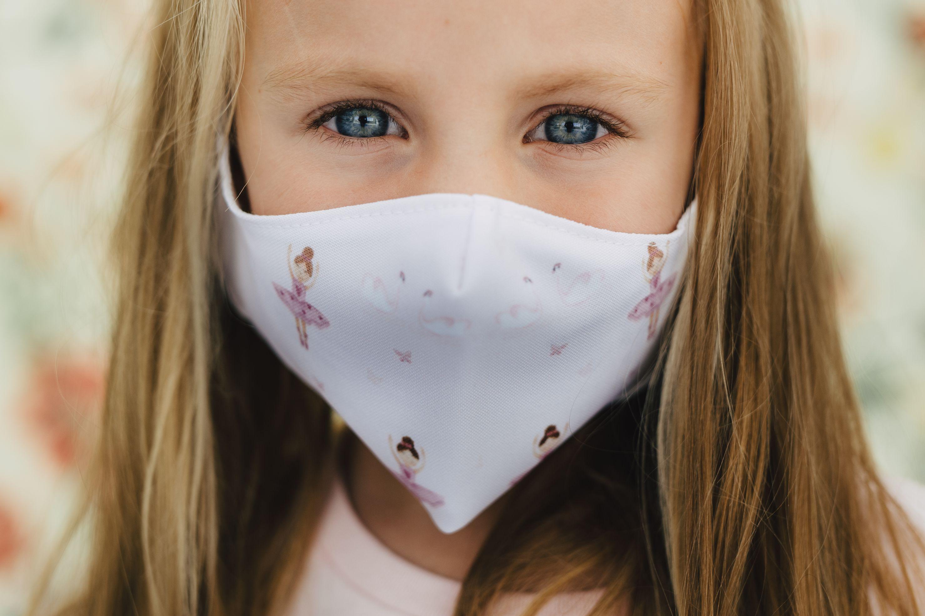 Mască copii BALERINA - 29 LEI |  PRINTCENTER - Tipar digital, offset, indoor, outdoor