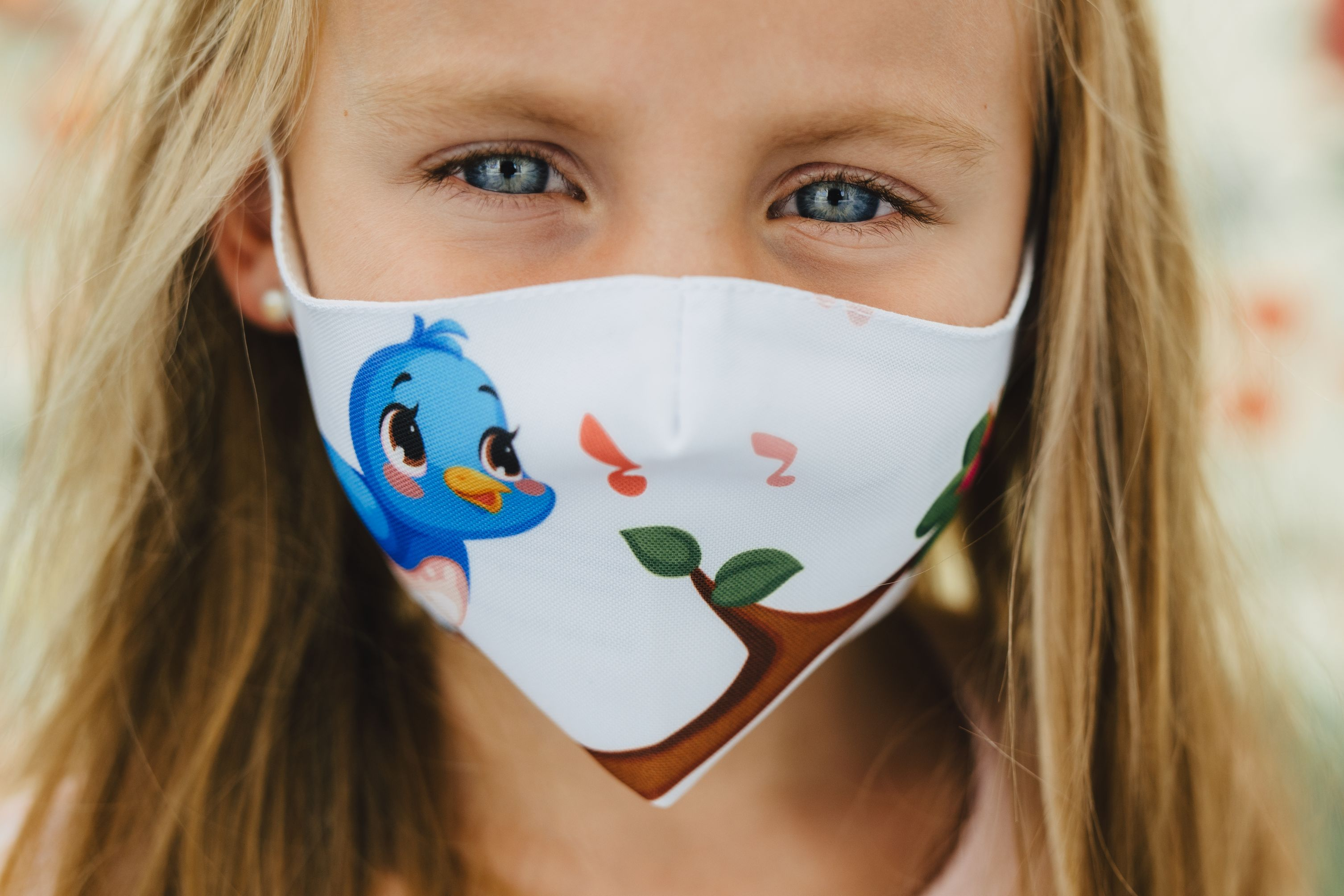 Mască copii BIRDIE - 29 LEI |  PRINTCENTER - Tipar digital, offset, indoor, outdoor